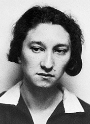 Porträt Ruth Kantorowicz um 1933